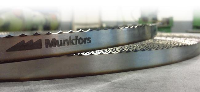 cintas de sierra Munkfors