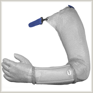 Guante de malla niroflex FIX brazo completo